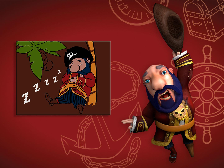 Klaus le pirate grognon magic xperience for Le divan 09 02 16