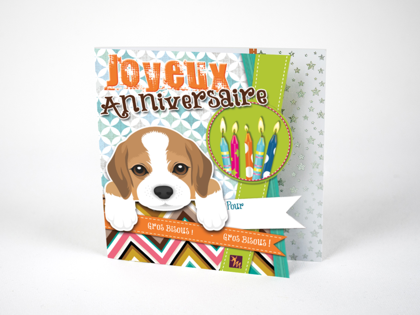 Carte Anniversaire Chien Magic Xperience
